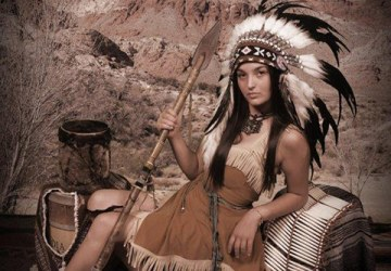 Best Native Amerian Themed Portrait - 1st Place Company