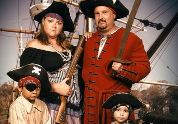1st Place Best Pirate Themed Portrait