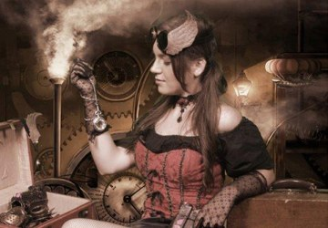 Best Steampunk Themed Portrait - AAPI Honorable Mention, 1st Place Company